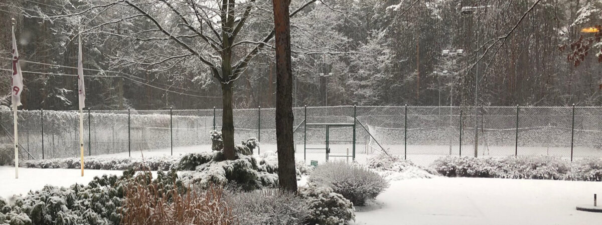 Cennik tenis - zima